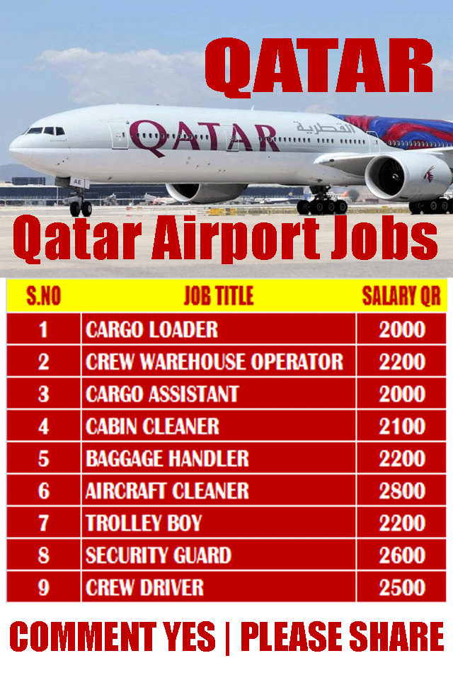 New Airways Jobs In Qatar