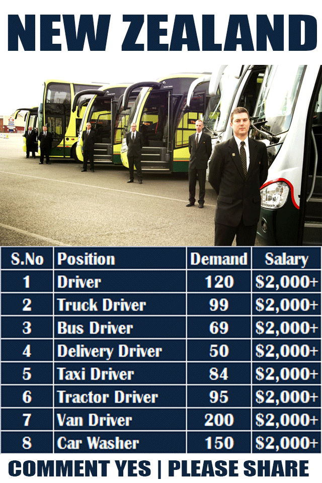 Driver Jobs In New Zealand